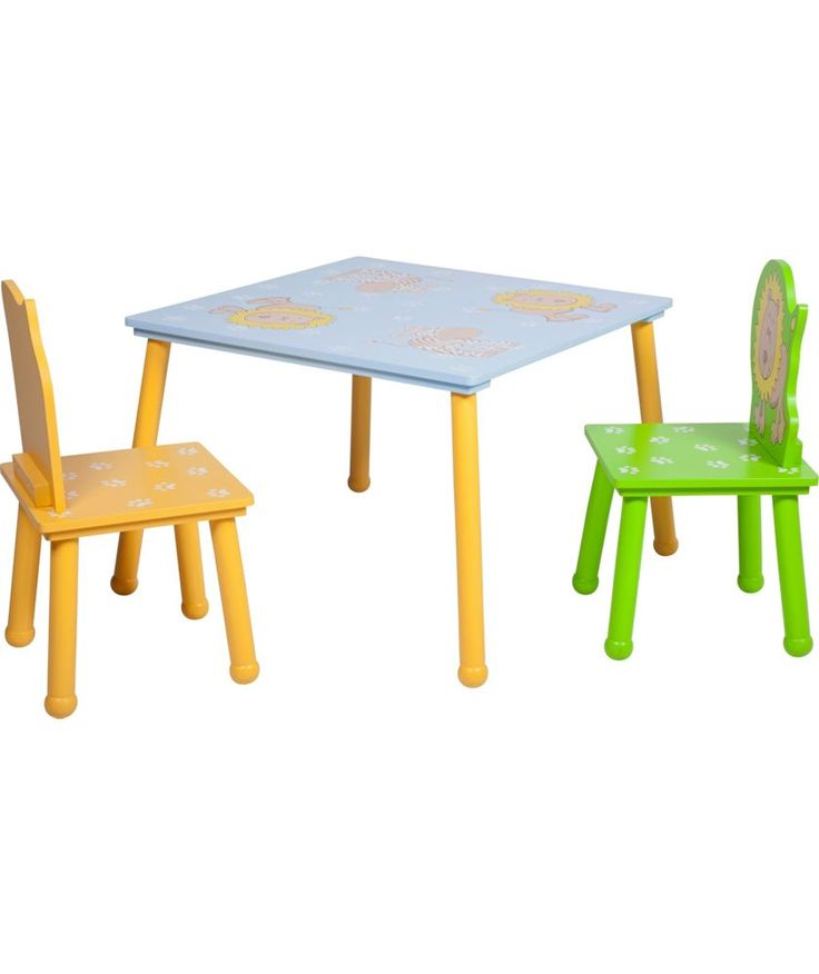 Buy Animal Table and Chairs - Multicoloured at Argos.co.uk - Your Online Shop for Children's tables and chairs.