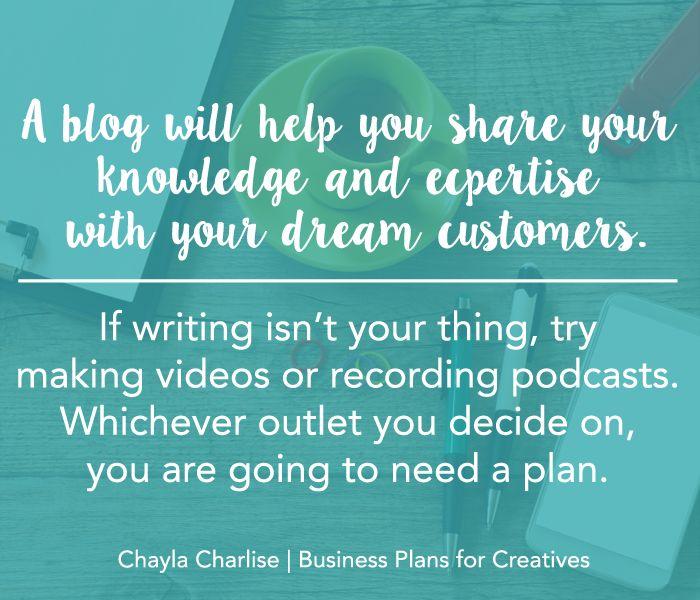 Write a business plan online