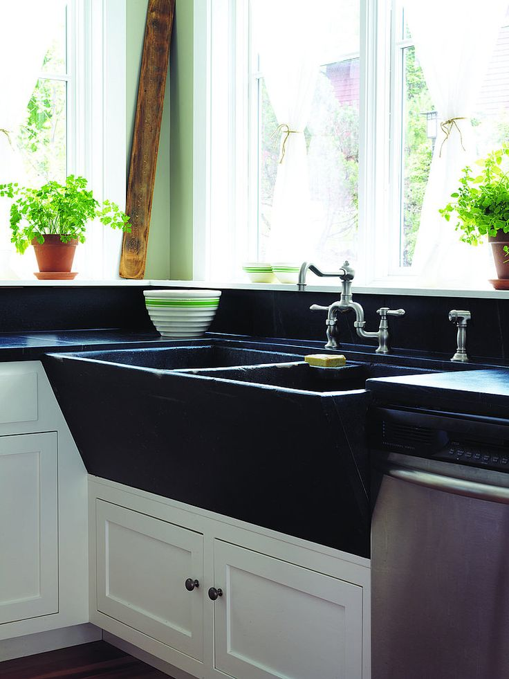 CS: Can You Tell Me More About This Gorgeous Sink? JP: The Soapstone