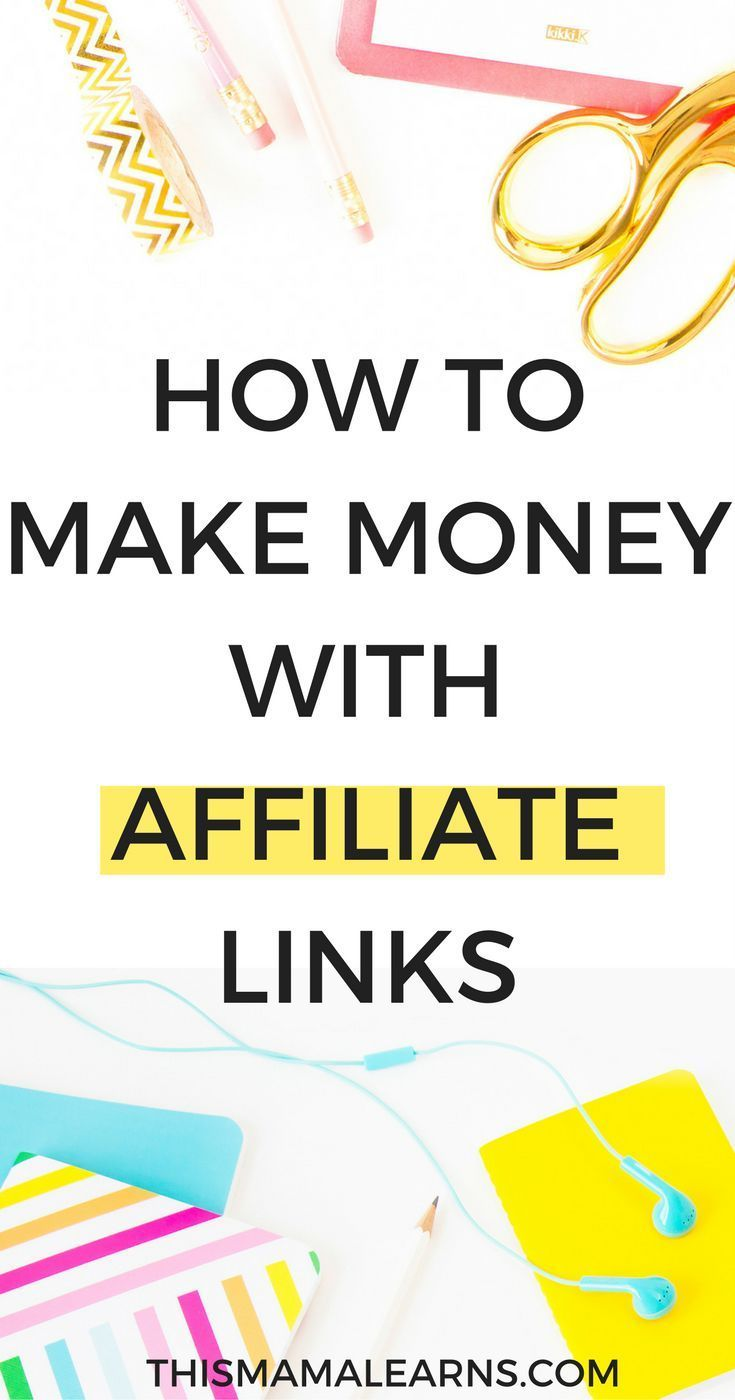Let me guess, you want to make money from your blog? One of the best ways to do it is with affiliate links. It's simple and is one of the ways bloggers can earn from their blog.