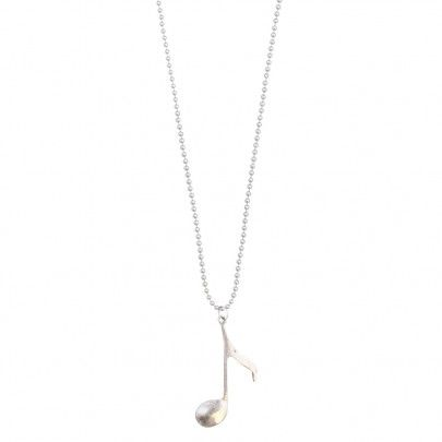 Musical Necklace Silver - Big Note 2 from Pentatonic Music - Rp 38.000