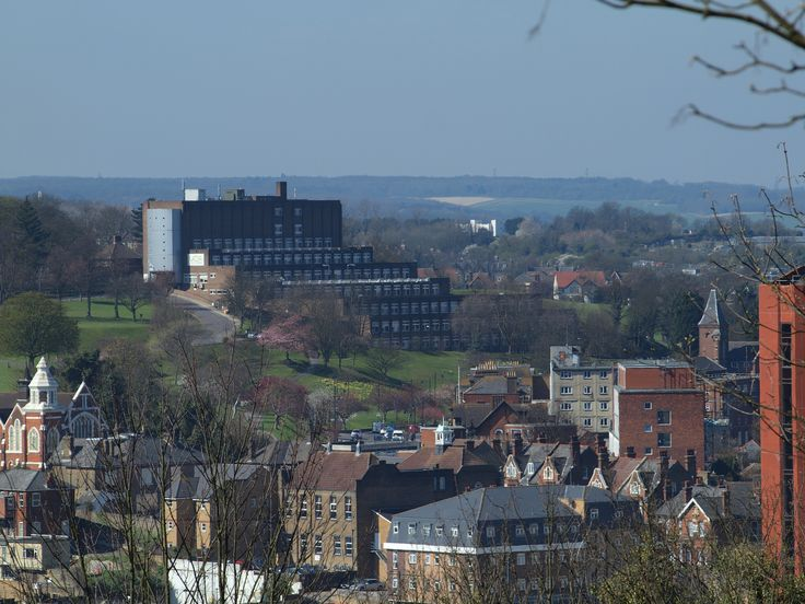https://flic.kr/p/bK9vGR | A view across Chatham town centre [shared]