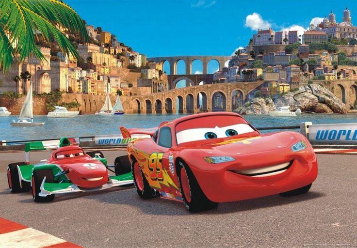 ... Lovely Disney Pixar Cars Wall Mural Design Inspirations
