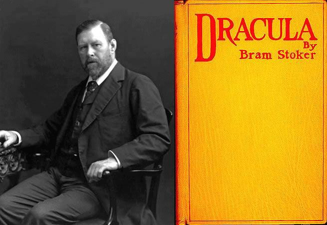 Google Doodle Bram Stokers 165th Birth Anniversary