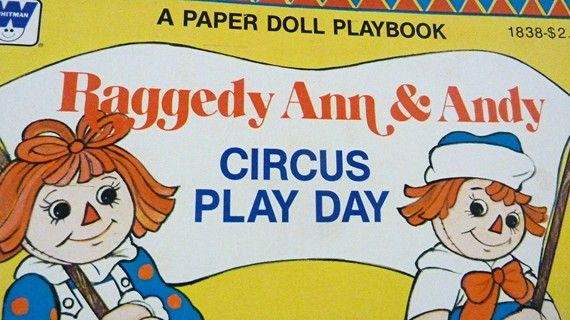 Raggedy Ann and Andy Circus Play Day 1980 by sinderellasattic