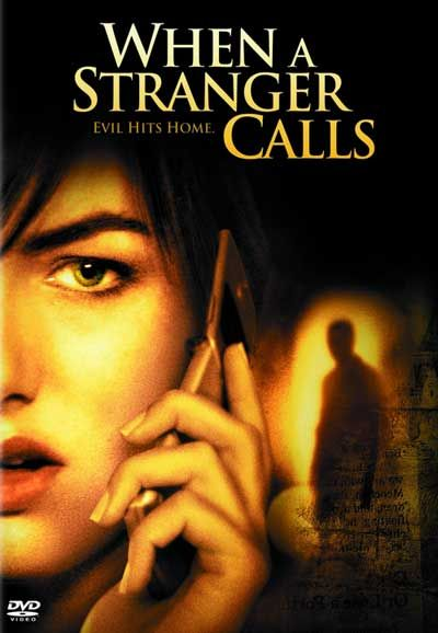 When a Stranger calls (2006) During an otherwise routine babysitting gig, a high-school student is harassed by an increasingly threatening prank caller. Camilla Belle, Tommy Flanagan, Katie Cassidy...12d