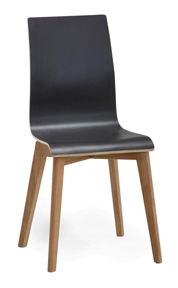 AVENUE-tuoli (Musta/Tammi)