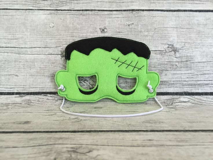 A personal favorite from my Etsy shop https://www.etsy.com/listing/249769662/frankenstein-mask
