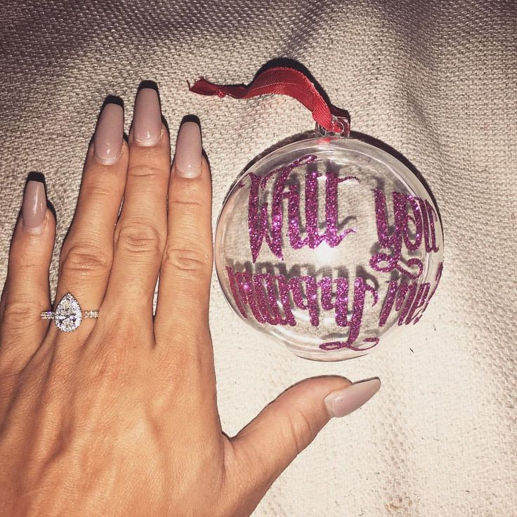 """⠀⠀⠀⠀⠀⠀⠀⠀⠀⠀⠀⠀⠀⠀⠀⠀Tammy  on Instagram: """"Just found this on the Christmas tree. 1000x YES ❤️ I would love nothing more than to spend the rest of my life with you @hawk_reece_"""""""
