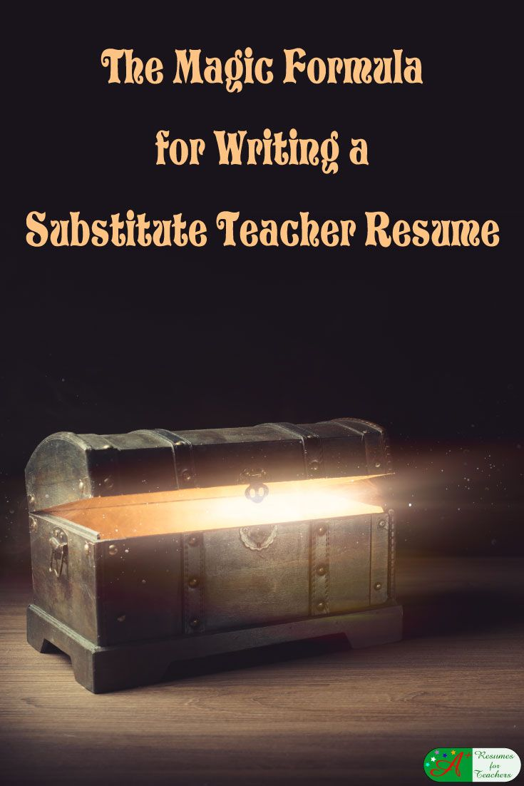 We have assembled ways that can help you to ensure your substitute teacher resume properly highlights your skills and experience as a substitute teacher.