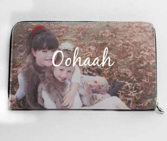 Our ladies wallets - upload your favourite photo to create your own designer photo wallet