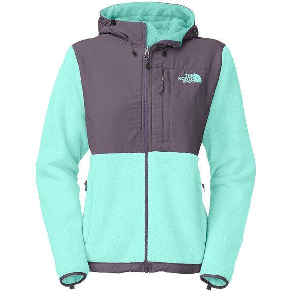 Womens north face denali jacket with hood