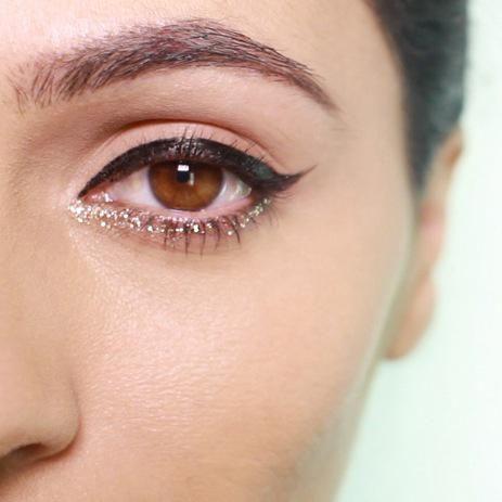 3 Glitter Holiday Makeup Ideas