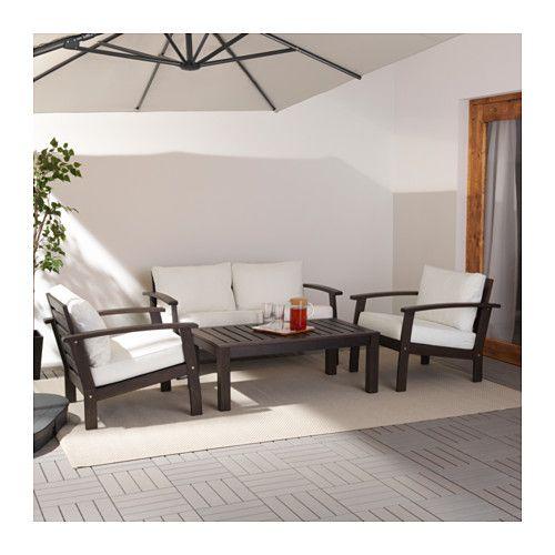 Outdoor Patio Furniture In Vaughan: KLÖVEN / KUNGSÖ 4-seat Conversation Set, Outdoor