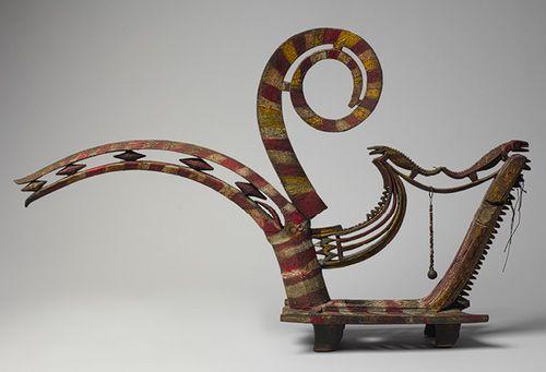 Hornbill Figure (Kenyalang) [Malaysia (Borneo, Sarawak), Iban people] (2007.359) | Heilbrunn Timeline of Art History | The Metropolitan Museum of Art