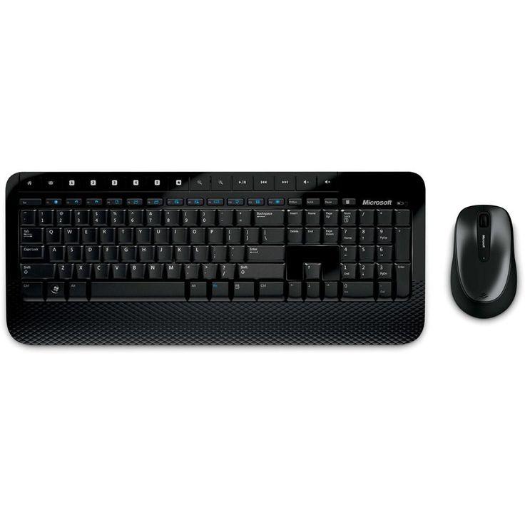 [AMERICANASMOB]Kit Teclado E Mouse Wireless Desktop 2000 - Microsoft - R$150,47