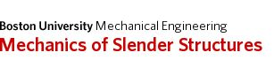 Mechanics of Materials: Bending – Shear Stress »  Mechanics of Slender Structures  | Boston University