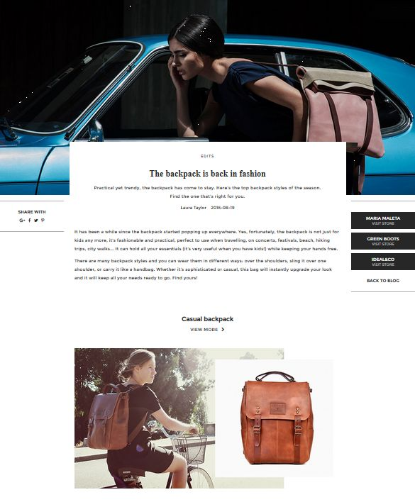 The backpack is back in fashion | UNIKSTORE Blog