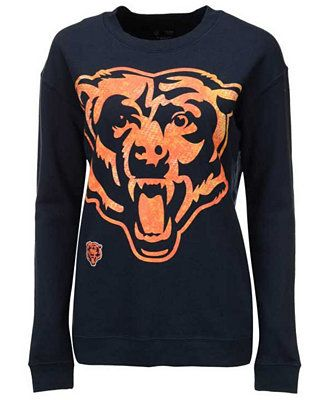 5th & Ocean Women's Chicago Bears Athletic Sweatshirt - Sports Fan Shop By Lids - Men - Macy's