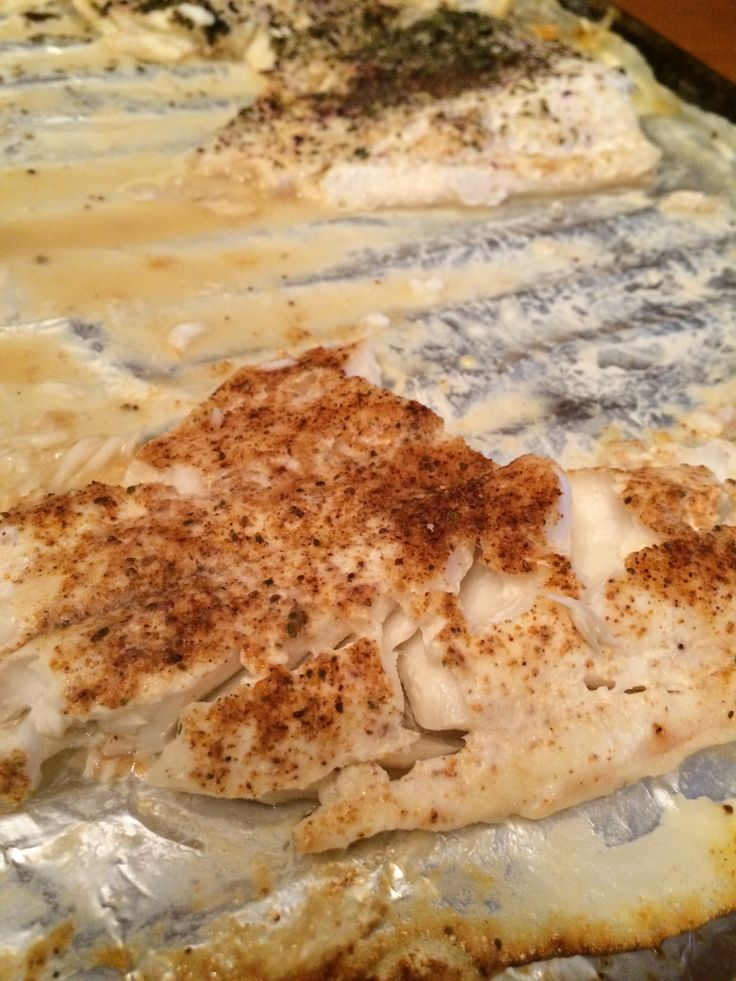 Grilled haddock with lemon juice & old bay seasoning ...