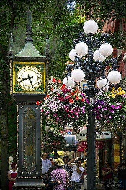Gastown Steam Clock, Vancouver, Canada