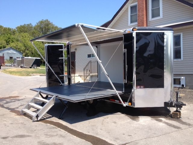 custom enclosed trailers - Google Search