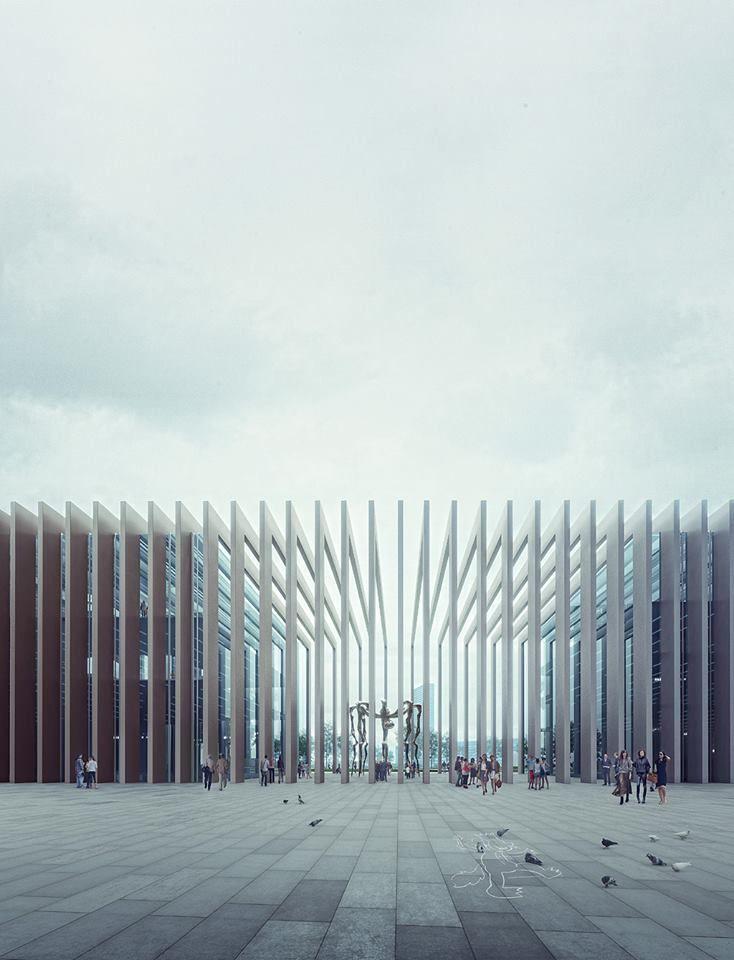 E3 West - E3 East | Mario Cucinella Architects Location: Porta Nuova di Milano > Render: MIR