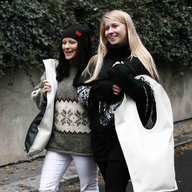 bags Cartoccio and Rettangolo from Francoarazzi