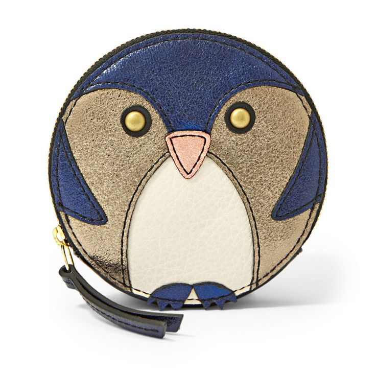 Fossil Penguin Zip Coin ($ 48) | 100+ Awesome Gifts For Kids | The Mindful Shopper