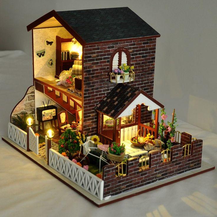 8763us gift for girl assembling diy miniature model