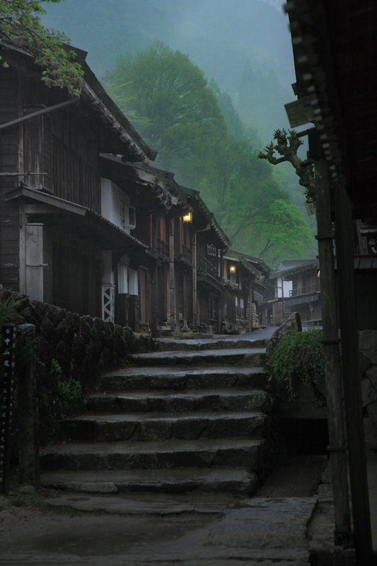 妻籠宿 木曽 長野 Tsumago-Juku, Japan
