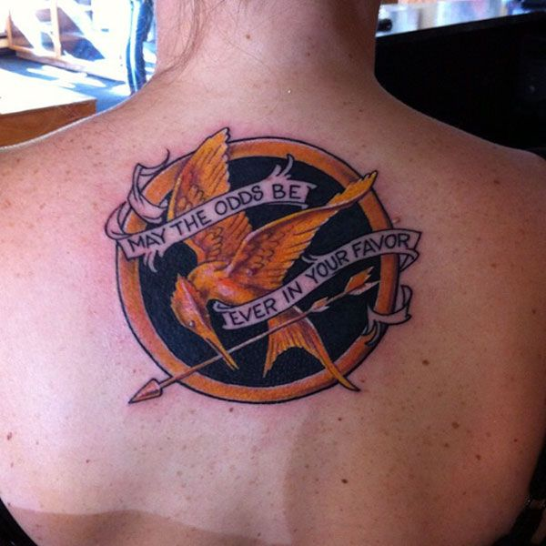 hunger games tattoo