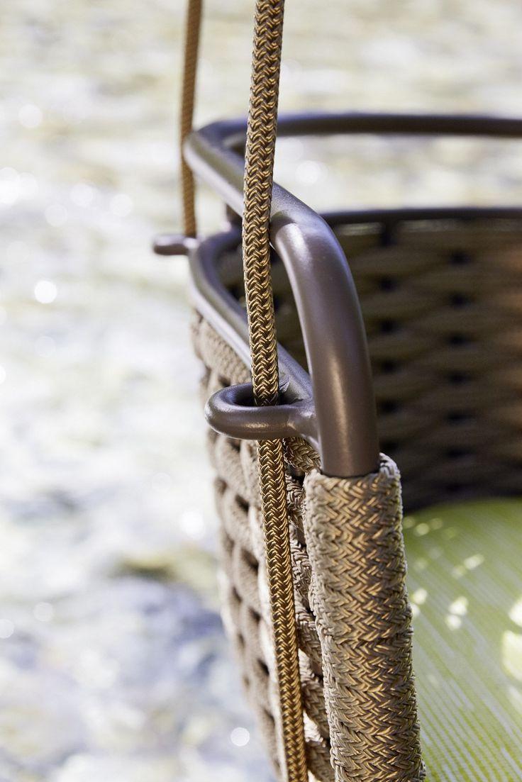 Portofino sill n colgante de jard n by roberti rattan for Sillon colgante jardin