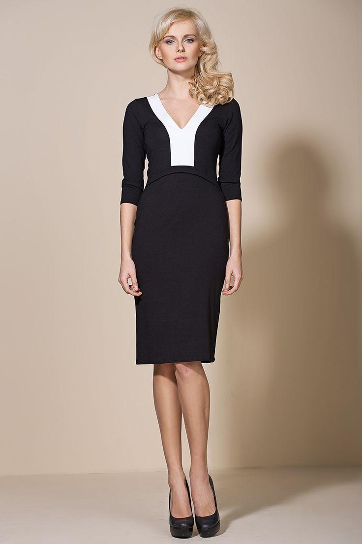 Sukienka al06 - czarny