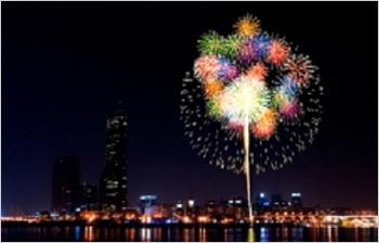 Seoul International Fireworks Festival, Oct 6, 2012