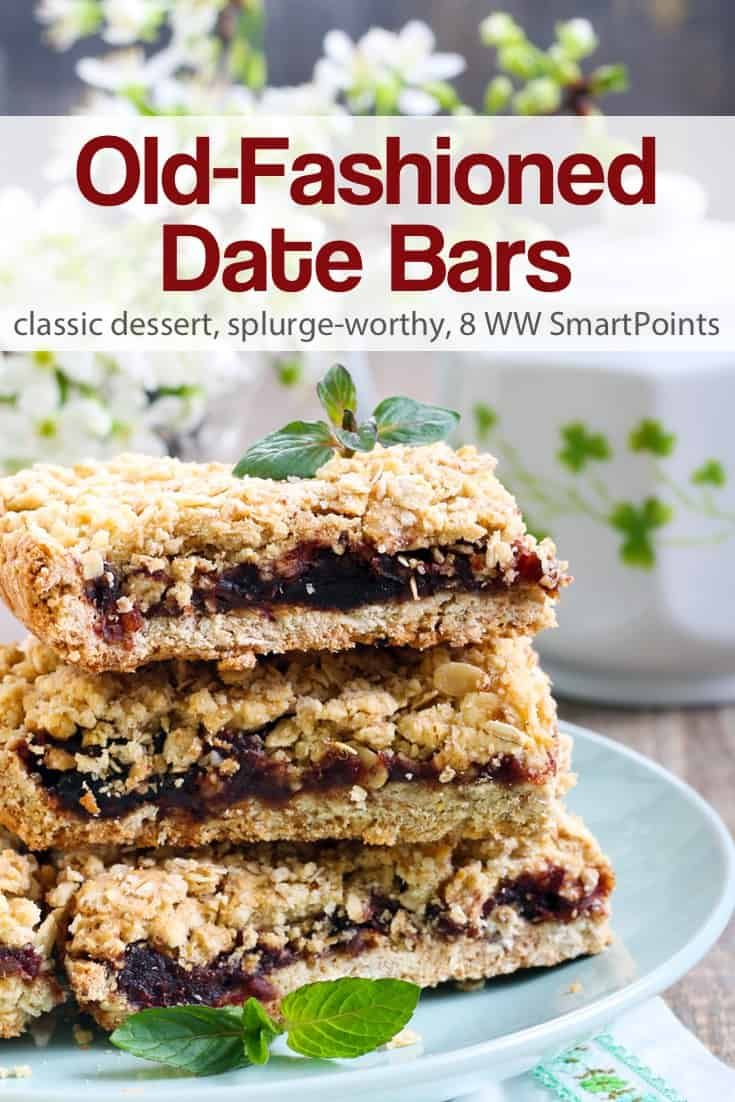 Old-Fashioned Date Bars
