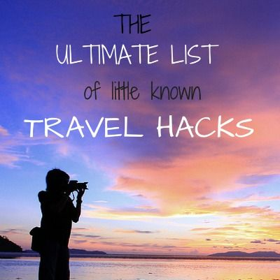 The ultimate list of little-known travel hacks I knew it!! Airlines totally track your behavior and up their prices accordingly!