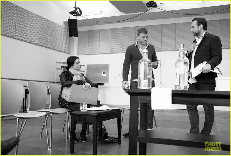 Daniel Craig & Rachel Weisz: 'Betrayal' Rehearsal with Rafe Spall!