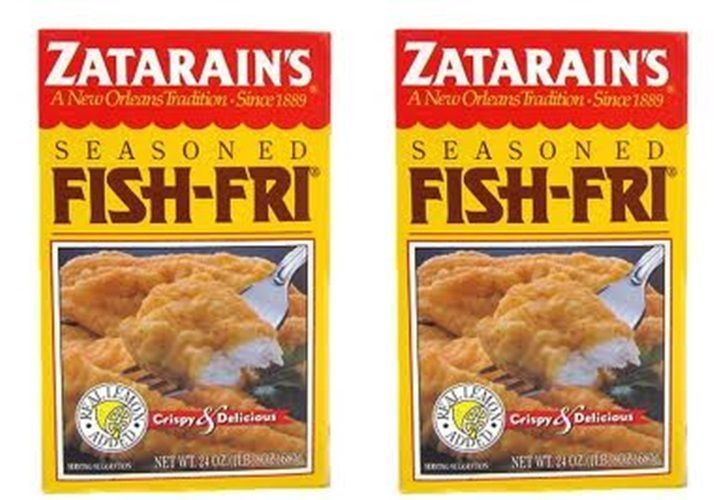 Details about 2 pack zatarain 39 s seasoned fish fry mix free for Fish fry mix