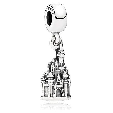 Walt Disney World ''Cinderella Castle'' Charm by PANDORA $60.00 Item No. 7501055889981P