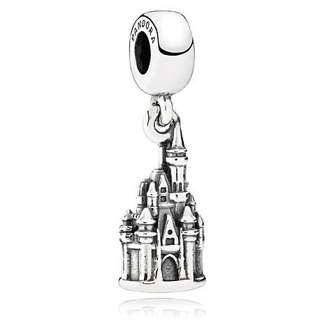 Walt Disney World ''Cinderella Castle'' Charm by PANDORA $60.00 Item No. 7501055889981P