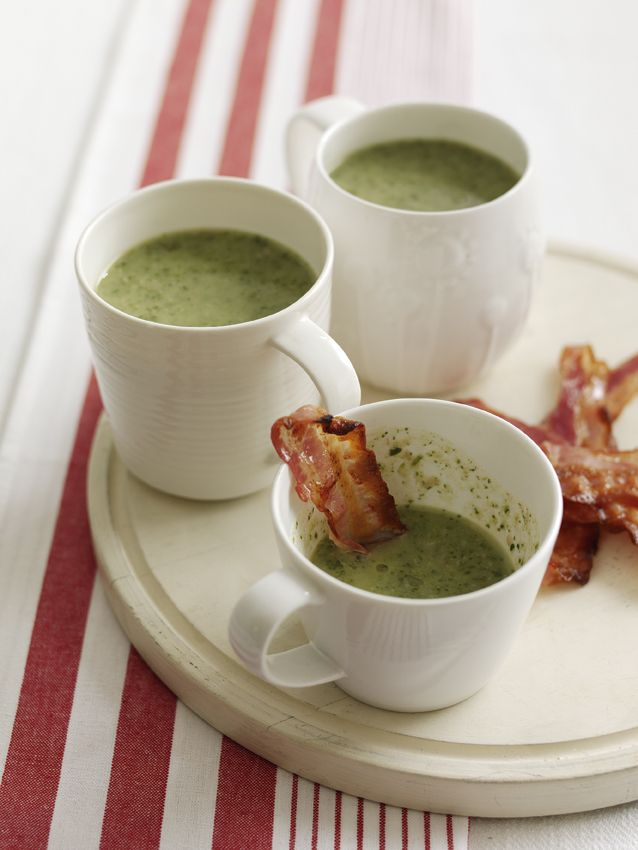 Smoky Bacon and Watercress Soup