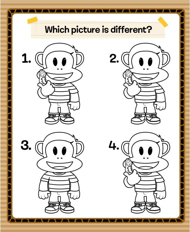 Find the difference between each Julius Jr.!