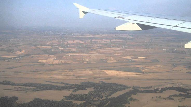 Load in Prague - Air France Plane -  Arrive in Prague Airport -