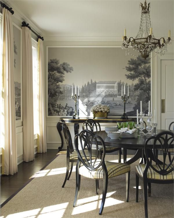 Traditional (Victorian, Colonial) Dining Room by Gideon Mendelson