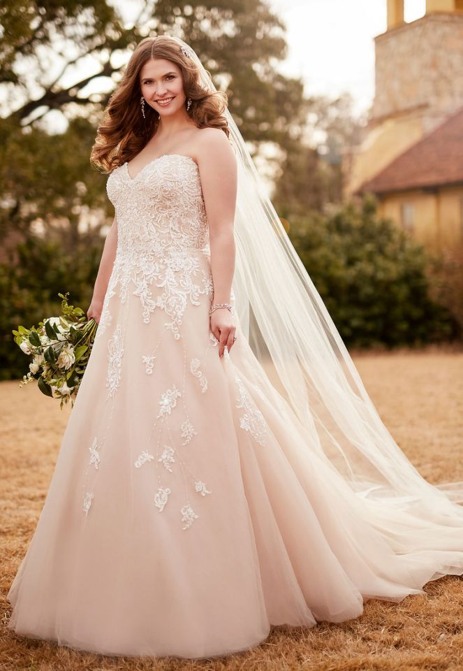 11 Beautiful Wedding Gowns For Curvy Figures Modern