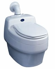 """Composting Toilet For Tiny Houses: """"We recently purchased the Separett composting toilet and we couldn't be happier with it. It is SO easy to use, to clean and it has absolutely no odor to it whatsoever. This is hands down the best system out there as far as we're concerned. The only downside we see is the cost (though we honestly believe it was worth every penny)"""""""