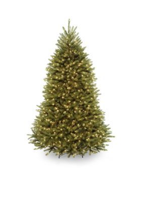 National Tree Company Dunhill Fir Tree With Clear Lights And Powerconnect - Green - 78