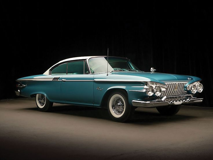 Oh my goodness <3  1961 Plymouth Fury Hardtop