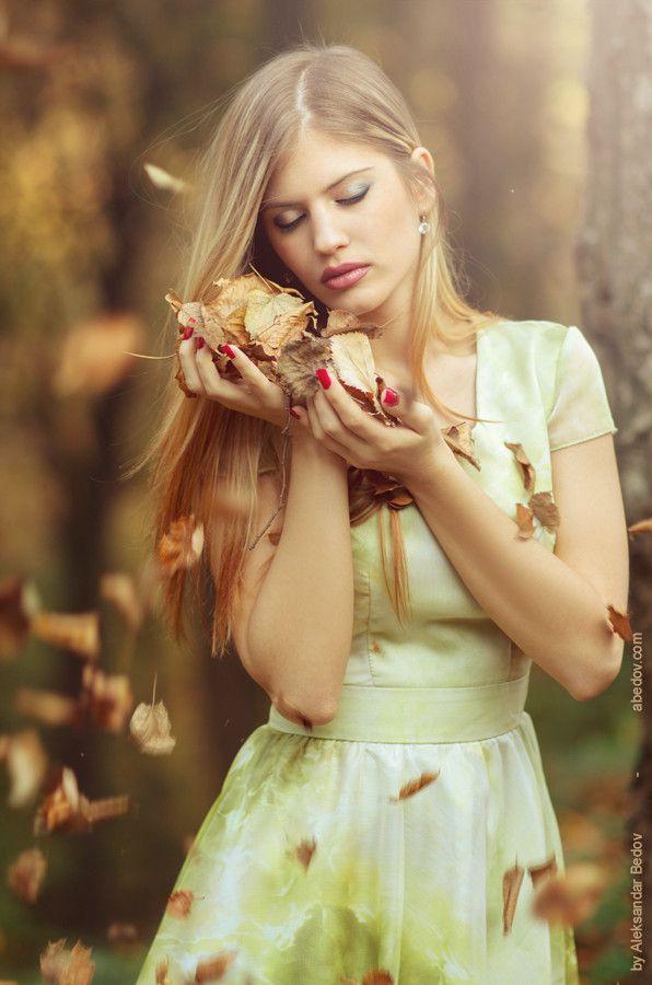 Lovely autumn portrait
